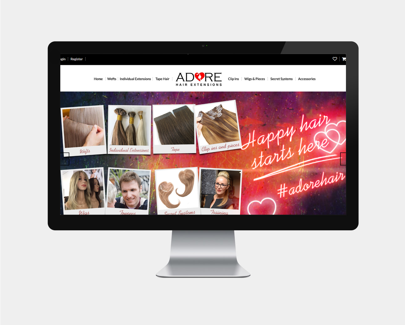 adore extensions ecommerce design pristine media uk