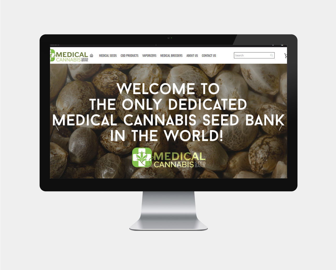medical cannabis seed banku ecommerce design pristine media uk