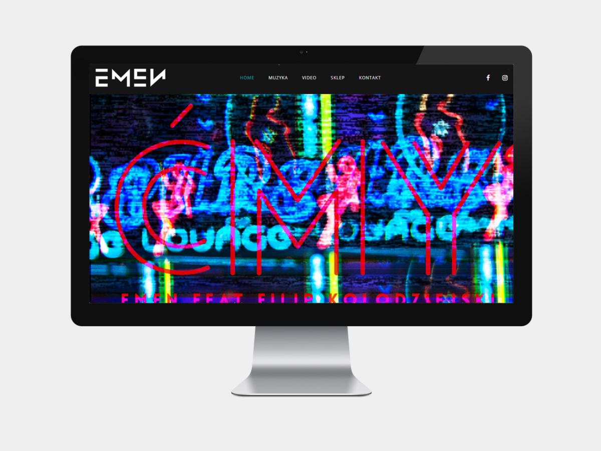 emen musician web design pristine media uk